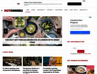 hot-dinners.com screenshot