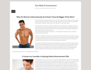 hot-male-enhancements.webs.com screenshot