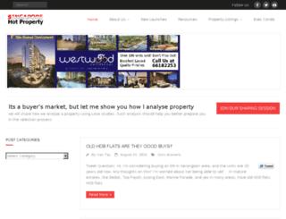 hot-property.sg screenshot