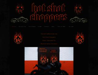 hot-shot-choppers.de screenshot