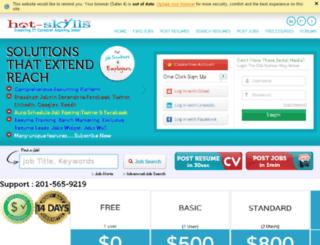 hot-skills.com screenshot