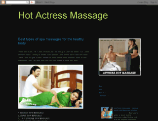 hotactressmassage.blogspot.in screenshot