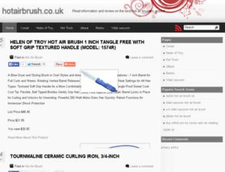 hotairbrush.co.uk screenshot