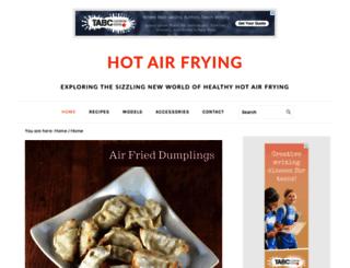 hotairfrying.com screenshot