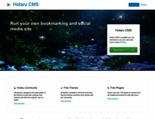 hotarucms.org screenshot