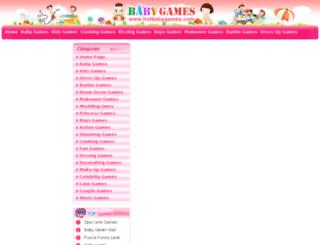 hotbabygames.com screenshot
