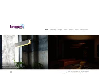 hotbeam.com screenshot