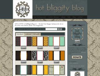 hotbliggityblog.com screenshot