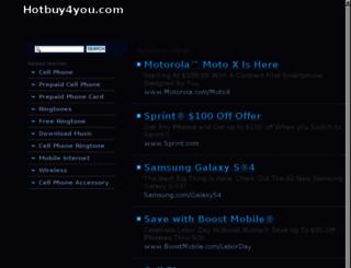 hotbuy4you.com screenshot