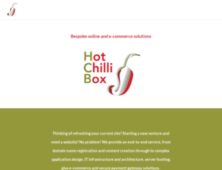 hotchillibox.co.uk screenshot