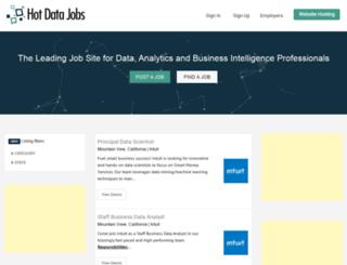 hotdatajobs.com screenshot