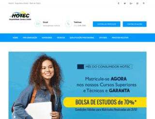 hotec.com.br screenshot