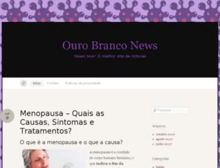 hoteisourobranco.com.br screenshot