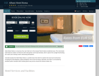 hotel-albani-roma.h-rsv.com screenshot