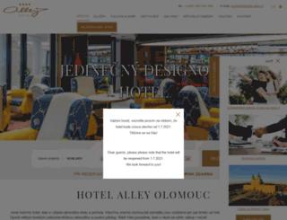 hotel-alley.com screenshot