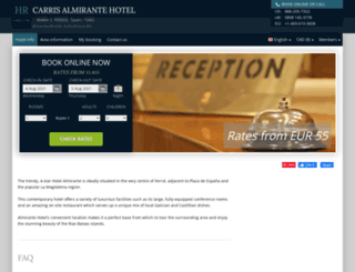 hotel-almirante-ferrol.h-rez.com screenshot