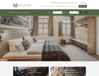 hotel-am-markt.eu screenshot