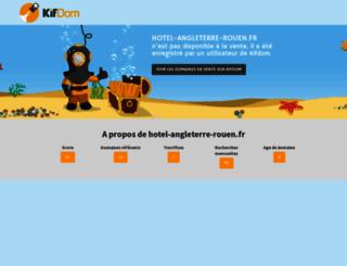 hotel-angleterre-rouen.fr screenshot