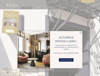 hotel-bastille-speria.com screenshot