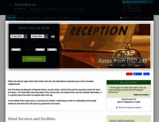hotel-beacon-manhattan.h-rsv.com screenshot
