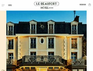 hotel-beaufort.com screenshot