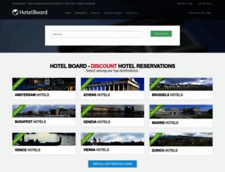 hotel-board.com screenshot