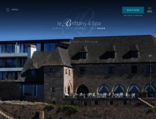 hotel-brittany.com screenshot