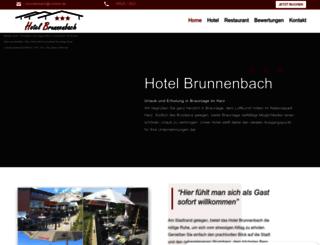 hotel-brunnenbach-braunlage.de screenshot