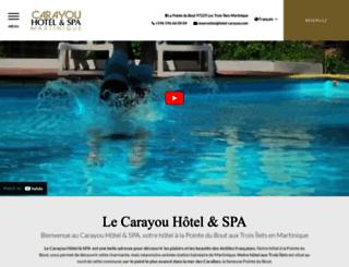 hotel-carayou.com screenshot