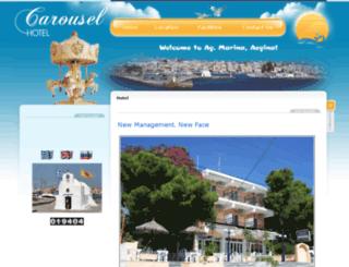 hotel-carousel.gr screenshot