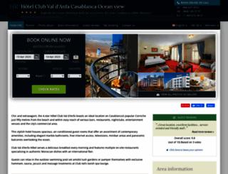 hotel-club-val-danfa.h-rez.com screenshot