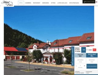 hotel-des-lacs.fr screenshot