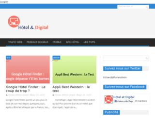 hotel-digital.fr screenshot