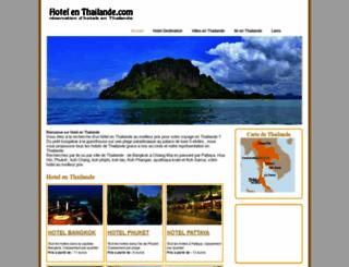 hotel-en-thailande.com screenshot