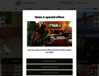 hotel-europa-bamberg.de screenshot