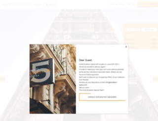 hotel-excelsior-opera.com screenshot