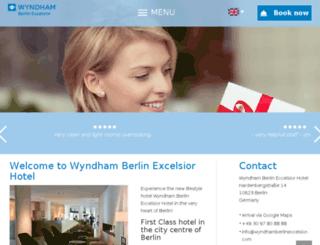 hotel-excelsior.de screenshot