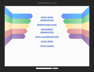hotel-france.com screenshot