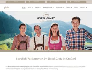 hotel-gratz.at screenshot