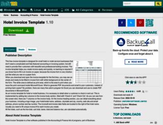 hotel-invoice-template.soft112.com screenshot