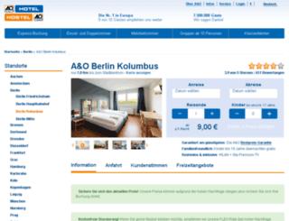 hotel-kolumbus.de screenshot