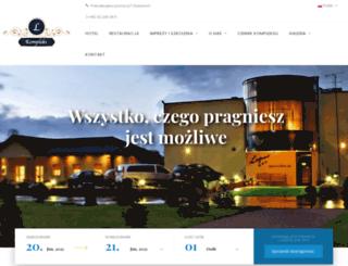 hotel-laguna.pl screenshot