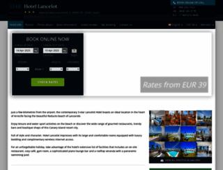 hotel-lancelot-arrecife.h-rez.com screenshot