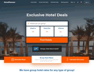 hotel-login.hotelplanner.com screenshot