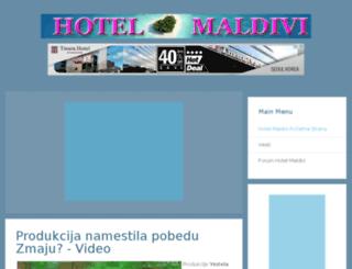 hotel-maldivi.com screenshot