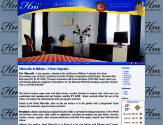 hotel-miravalle.it screenshot