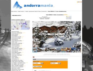 hotel-nordic-soldeu-el-tarter.andorramania.com screenshot