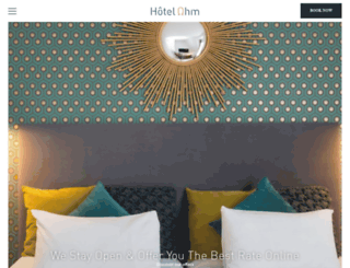 hotel-paris-tour-eiffel.fr screenshot