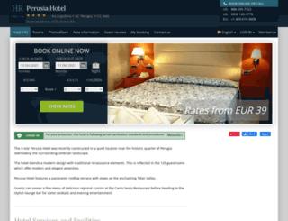 hotel-perusia-perugia.h-rez.com screenshot