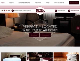 hotel-primas.com screenshot